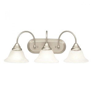 Kichler Three Light Brushed Nickel Vanity - 5993NI