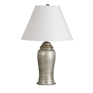 Kichler One Light Antique Pewter Table Lamp - 70333APCA
