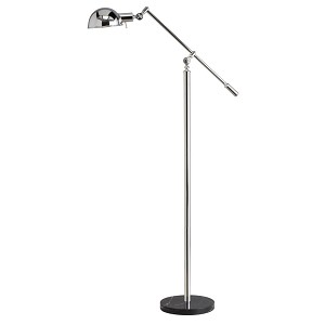 Kichler One Light Chrome Floor Lamp - 74275CA