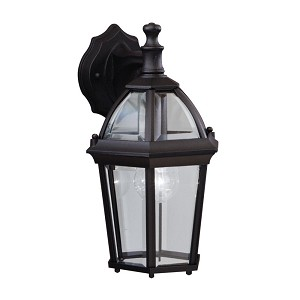 Kichler One Light Black (painted) Wall Lantern - 9250BK
