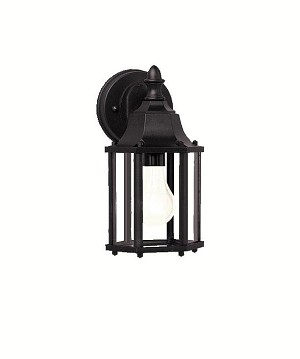 Kichler One Light Black (painted) Wall Lantern - 9774BK