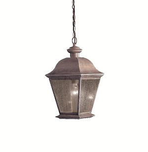 Kichler One Light Black (painted) Hanging Lantern - 9809BK