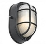 Kichler One Light Black (painted) Outdoor Wall Light - 11029BK