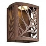 Kichler Aged Bronze Outdoor Wall Light - 49251AGZLED
