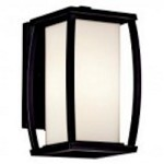Kichler One Light Architectural Bronze Outdoor Wall Light - 49336AZ