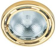 Lite Source Inc. MICRO RECESS LITE, POLISHED BRASS, 20W/JC TYPE - LS-1202PB