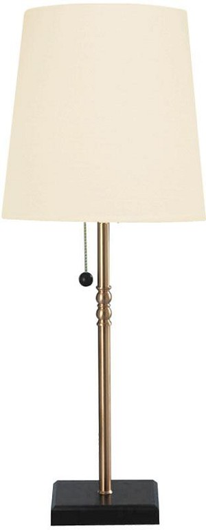 Lite Source Inc. TABLE LAMP, BLACK/COPPER 40W - LS-3385CP/BLK