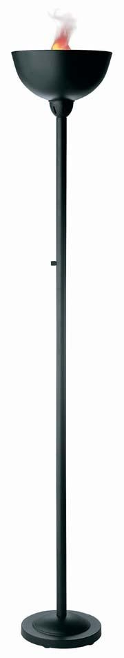 Lite Source Inc. TORCHIERE LAMP, BLACK, MR-11/120V 50W - LS-8076BLK