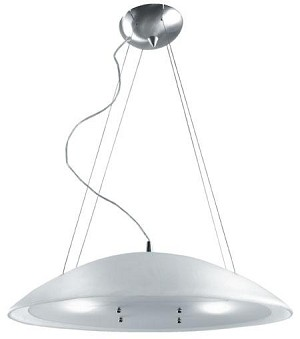 Lite Source Inc. CEILING LAMP, W/FROST GLASS SHADE TYPE A 100Wx2 - LSI-1858FRO