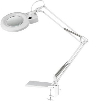Lite Source Inc. 3 & 5 DIOPTER MAGNIFIER LAMP, WHITE, CIRCULINE 22W/T5 - LSM-198WHT