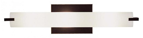 Painted Restoration Bronze 3 Light 20.5In. Width Ada Compliant Bathroom Bath Bar From The Tube Collection