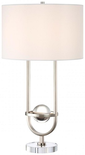 Minka George Kovacs Silver Table Lamp - P767-613