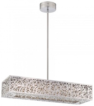Minka George Kovacs Ninety Six Light Chrome Island Light - P984-077-L