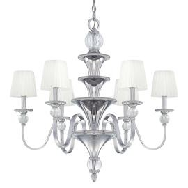 Minka Metropolitan Polished Nickel  Up Chandelier - N6610-613