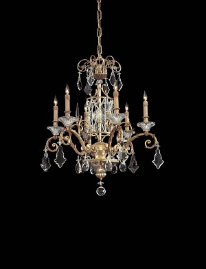 Minka Metropolitan Gold Up Chandelier - N9039