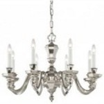 Minka Metropolitan Polished Nickel Up Chandelier - N1115-613
