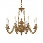 Minka Metropolitan Antique Brass Up Chandelier - N700408