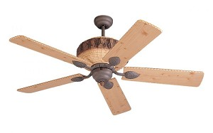 Monte Carlo Black Ceiling Fan - 5GL52WI
