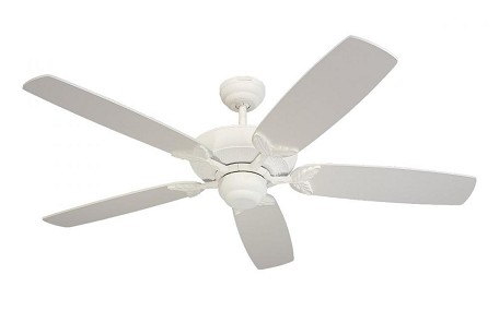Monte Carlo White Ceiling Fan - 5MS52TW