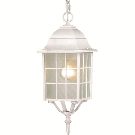 Nuvo Adams - 1 Light - 16'' Outdoor Hanging W/ Frosted Glass - 60/4911
