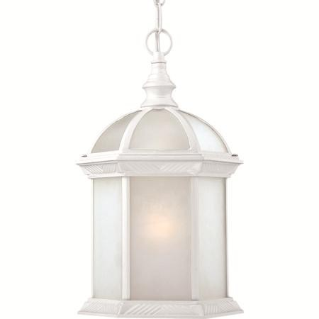 Nuvo Boxwood ES - 1 Light - 19''Outdoor Hang W/ Frosted Glass - (1) 18W GU24 Base Lamp Included - 60/4997