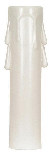 Satco Products Inc. 4'' CANDELABRA DRIP PLASTIC CANDLE COVER - 90-1260