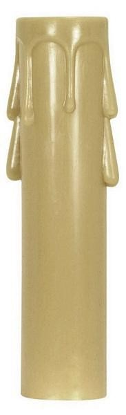 Satco Products Inc. 3½'' CANDELABRA ANT.DRIP PLASTIC CANDLE CO - 90-1263