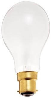 Satco Products Inc. 40 watt; A19; Frost; 2500 average rated hours; 330 lumens; European Bayonet base; 220 volts - S5040