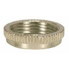 Satco Products Inc. NICKEL RING FOR THREADED CANDELABRA SKT - 80-1486