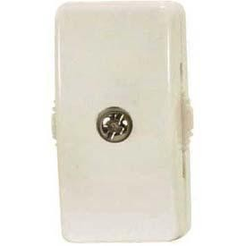 Satco Products Inc. IVORY ON-OFF SPT-2 LINE SWITCH - 90-2629