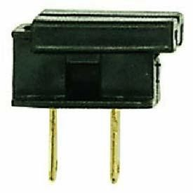 Satco Products Inc. BLACK GILBERT SPT2 PLUG - 90-697