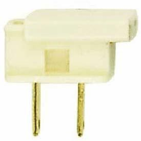 Satco Products Inc. MALE GILBERT PLUG - IVORY - 90-716