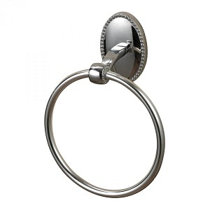 Sterling Industries Towel Ring In Chrome - 131-013