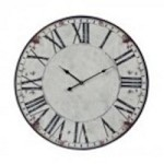 Sterling Industries Roman Numeral Printed Clock - 118-040