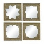 Sterling Industries Pine Island-Set Of 4 Moroccan Motif Inspired Mirrors - 138-065/S4