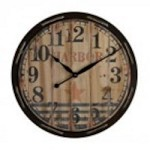 Sterling Industries Wooden Clock - 26-8644