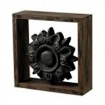 Sterling Industries Wood Frame Accessory With Cast Iron Look Centre - 26-8660