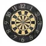 Sterling Industries Dart Board Wall Clock - 26-8671