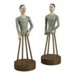 Sterling Industries Set Of 2 Parisian Statues - 93-10105