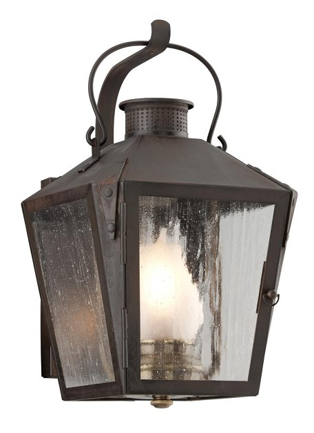 Troy 1LT WALL LANTERN SMALL - B3761NR