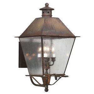 Troy Four Light Black Wall Lantern - B9137CI