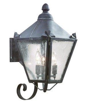 Troy Three Light Rust Wall Lantern - BCD8943NR