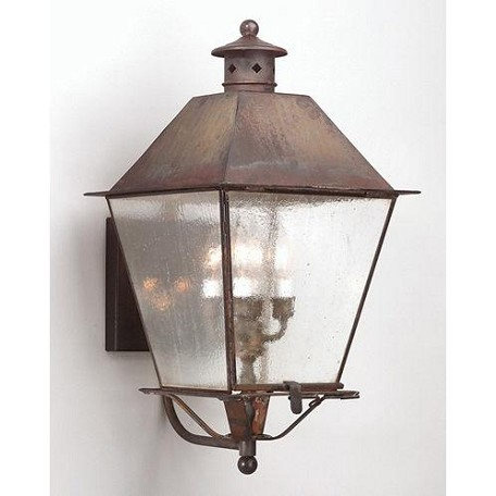 Troy Four Light Black Wall Lantern - BCD9137CI