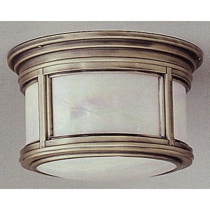 Troy Two Light Bronze Outdoor Flush Mount - CIH6918OB