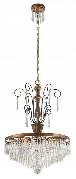 Troy LE MARIAS  6 LT CHANDELIER - F3776