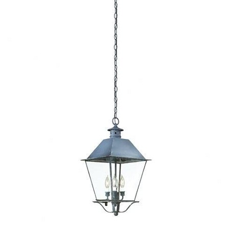 Troy Four Light Rust Hanging Lantern - F9139NR