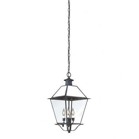 Troy Four Light Rust Hanging Lantern - FCD8959NR