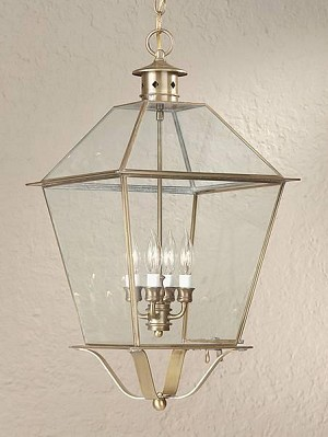 Troy Four Light Black Hanging Lantern - FCD8962CI