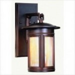 Troy One Light Bronze Wall Lantern - BFIH6910OB