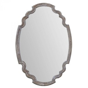 Uttermost Ludovica Aged Wood Mirror - 14483